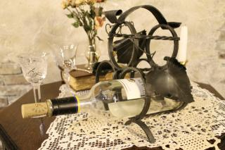 Wine bottle‐Holder(triple) K-462
